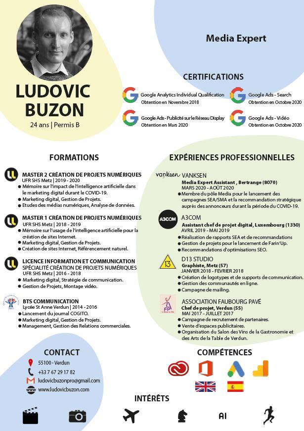 CV - Buzon Ludovic